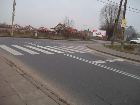skrzyżowanie Berensona z ulicą Kąty Grodziskie